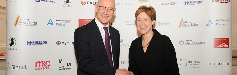 John Swinney and Karen Betts