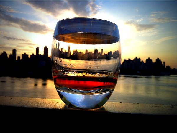 Whisky and Sunset