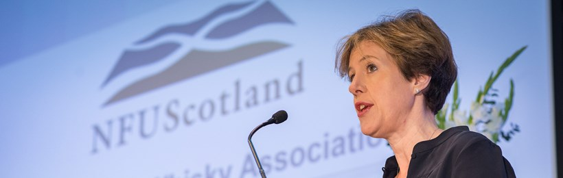 SWA Chief Executive addresses the NFUS annual conference